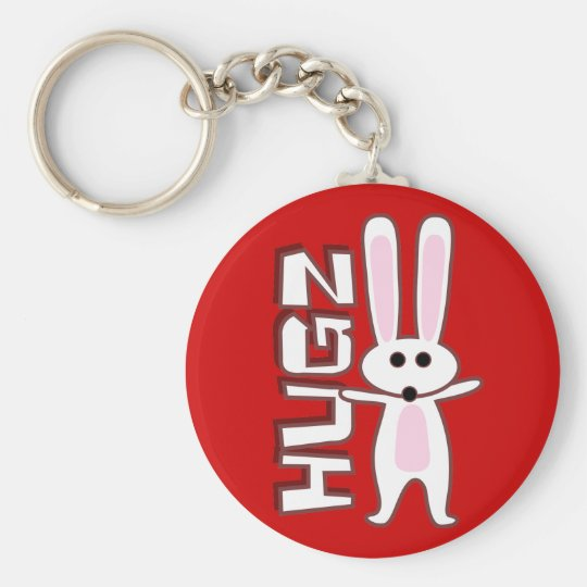 Bunny Design Keychain