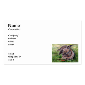 Bunny Dreams Business Cards
