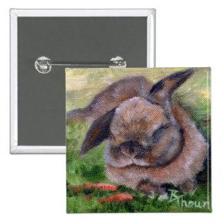 Bunny Dreams Button