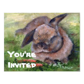 Bunny Dreams Invitation