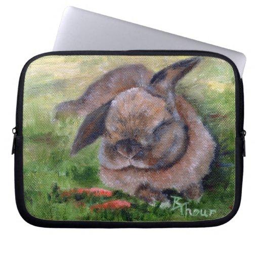 Bunny Dreams Laptop Computer Sleeve
