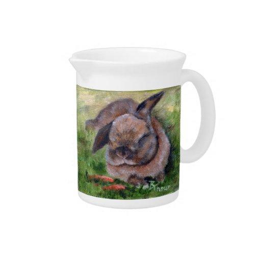 Bunny Dreams Beverage Pitchers