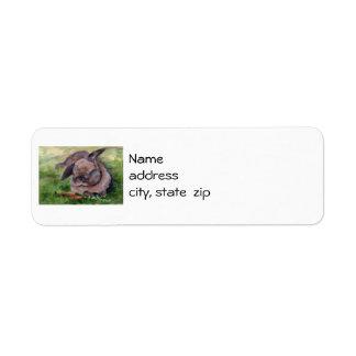 Bunny Dreams Return Address Labels