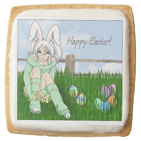 Bunny Ears- Easter Shortbread Cookies