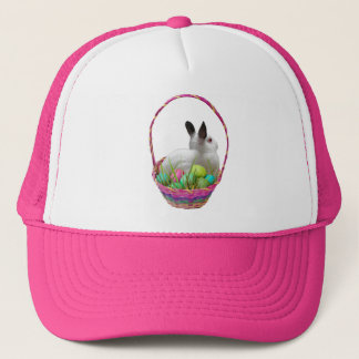 Bunny Easter Basket Hat