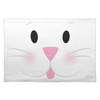 Bunny Face Cloth Placemat