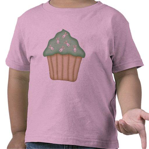 Bunny Face Cupcake Shirts