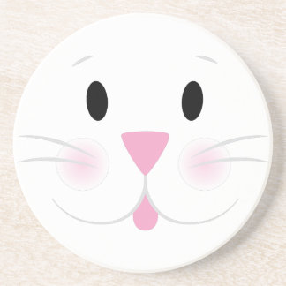 Bunny Face Drink Coaster