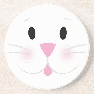 Bunny Face Drink Coaster