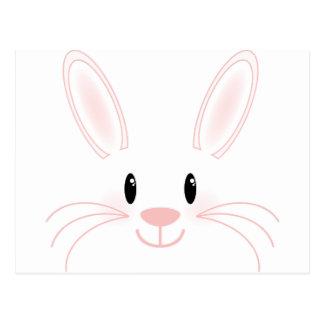 Bunny Face Postcard
