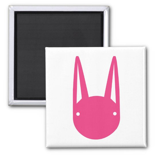 BUNNY FACES MAGNET