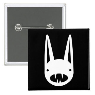 BUNNY FACES PINBACK BUTTONS