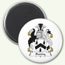 Bunny Family Crest Magnet