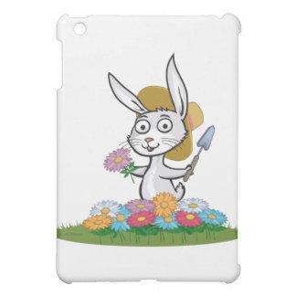 Bunny Flower Gardener iPad Mini Cases