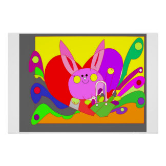 BUNNY FOR KIDS POSTER