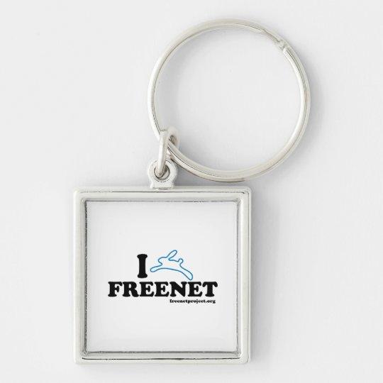 Bunny Freenet Keychain