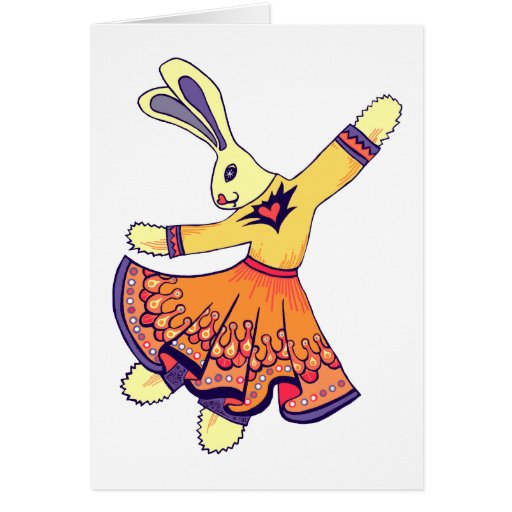 Bunny Freestyle Card