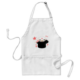 bunny from the hat adult apron