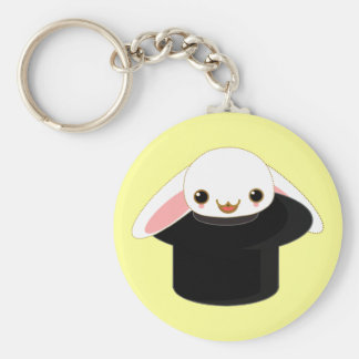 bunny from the hat key chain