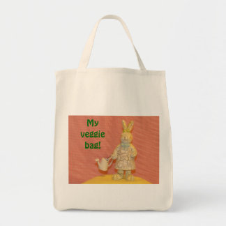 Bunny Gifts Grocery Tote Bag