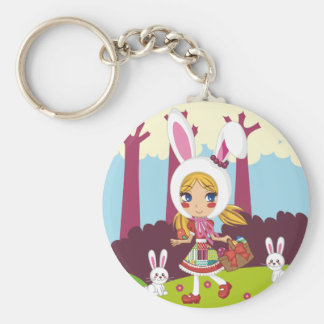 Bunny Girl Keychain