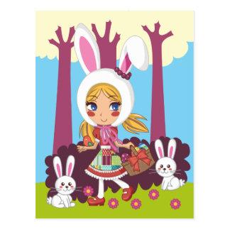 Bunny Girl Postcard