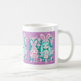 Bunny Girl Sisters Coffee Mug
