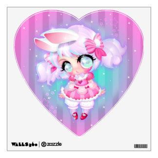 Bunny Girl Wall Decal