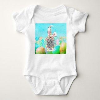 Bunny Gnome Baby Onepiece Baby Bodysuit