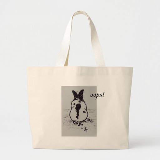 Bunny Go Oops aceo Bag