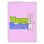 Bunny Happy Easter Design Cards