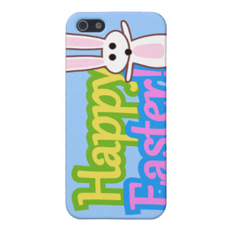 Bunny Happy Easter Design iPhone 5 Cover