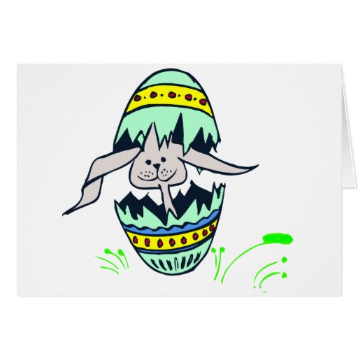 Bunny Hatch Greeting Cards