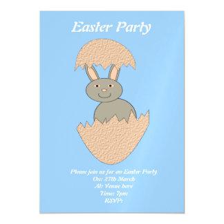 Bunny Hatching from Egg Weird Custom Invite