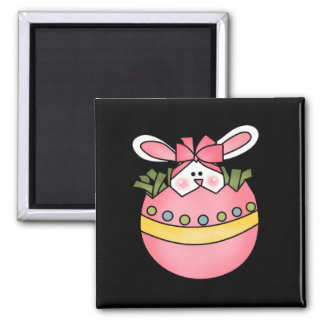 Bunny Hatching Pink Tshirts and Gifts Refrigerator Magnet