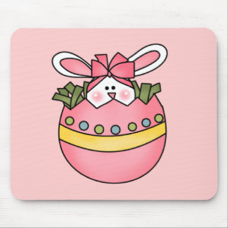 Bunny Hatching Pink Tshirts and Gifts Mousepad