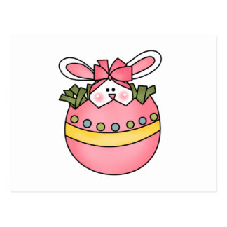 Bunny Hatching Pink Tshirts and Gifts Postcard