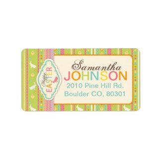 Bunny Hop Address Label