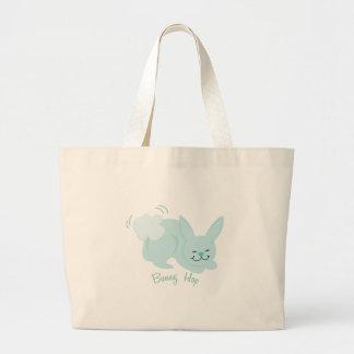 Bunny Hop Jumbo Tote Bag