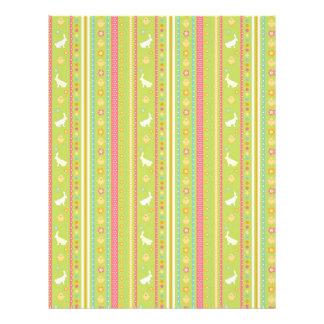 Bunny Hop Dual-sided Scrapbook Paper A2