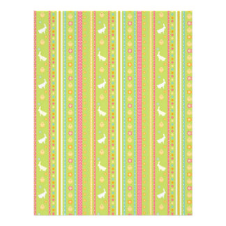 Bunny Hop Dual-sided Scrapbook Paper A2 Flyers