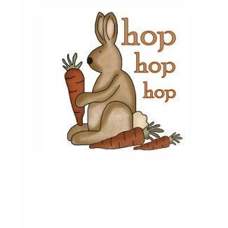 Bunny Hop Easter Tshirts shirt
