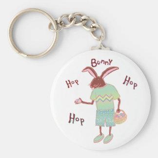 Bunny Hop Hop Hop Keychain
