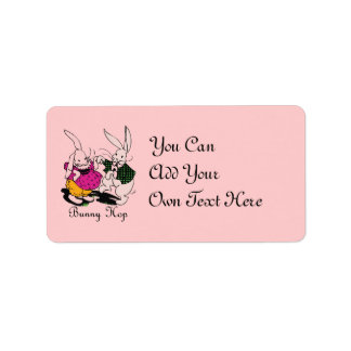 Bunny Hop Label Labels