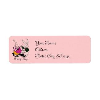 Bunny Hop Return Address Label Labels