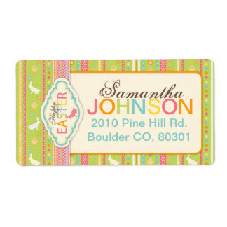 Bunny Hop Shipping Label