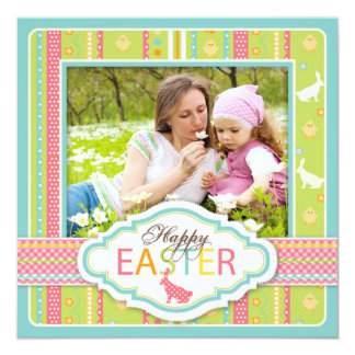 Bunny Hop Square 2 Card