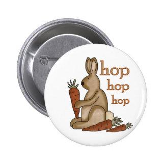 Bunny Hop T-shirts and Gifts Pins
