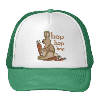 Bunny Hop T-shirts and Gifts Trucker Hat
