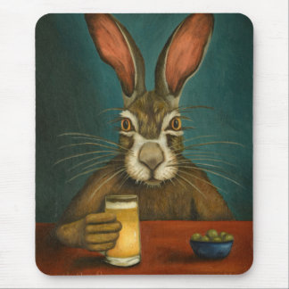 Bunny Hops Mouse Pad